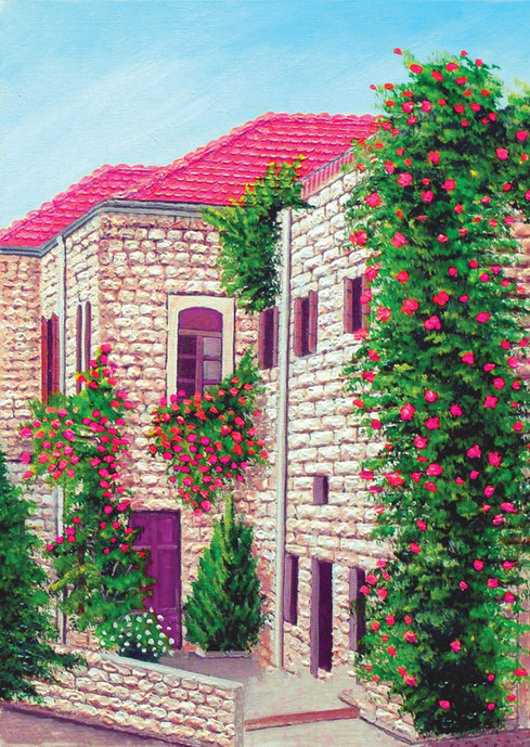 Lebanese Traditional House - Mama Manoush