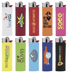 Custom Printed Bic Lighters