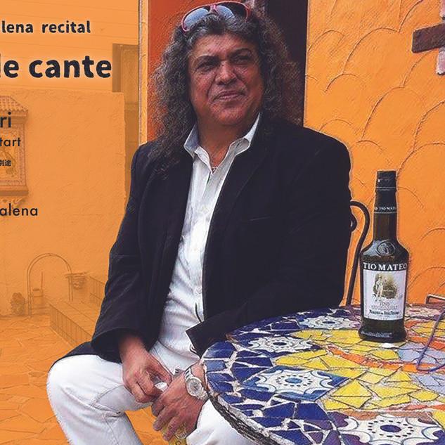 Manuel de la Marena カンテソロライブチラシ