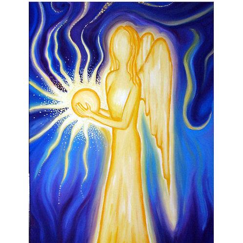 Gemälde spirituell, Engel, Achtsamkeit, Schutzengel
