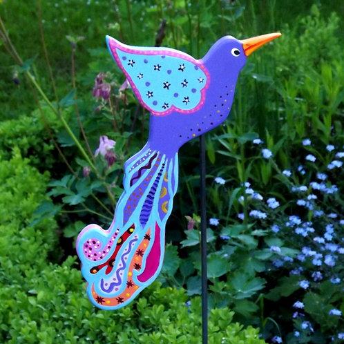 """Gartenstecker  Paradiesvogel """"Lalita"""", Gartenkunst"""