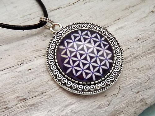 Mandala Blume des Lebens,  Anhänger spirituell