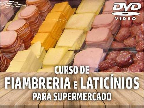 DVD - Curso de Treinamento: Fiambreria e Laticínios no Supermercado