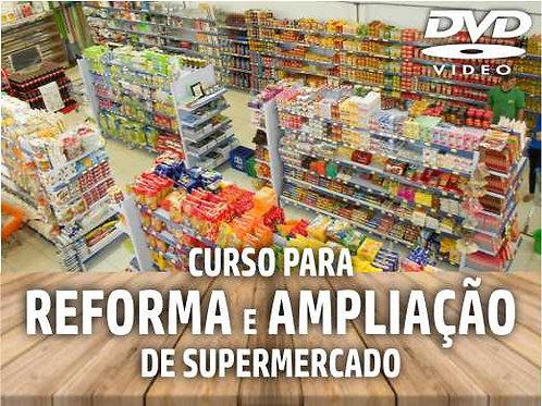 DVD - Curso de Treinamento: Reforma e Ampliação de Supermercado