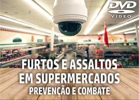 DVD - Curso de Treinamento: Furtos e Assaltos em Supermercados