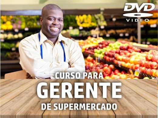 DVD - Curso de Treinamento: Gerente de Supermercado