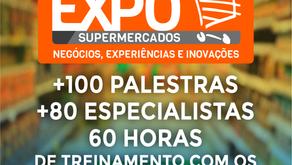 Mais de 100 palestras com 80 especialistas em supermercados na 21ª Expo Supermercados