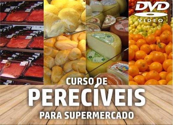 DVD - Curso de Treinamento: Perecíveis no Supermercado