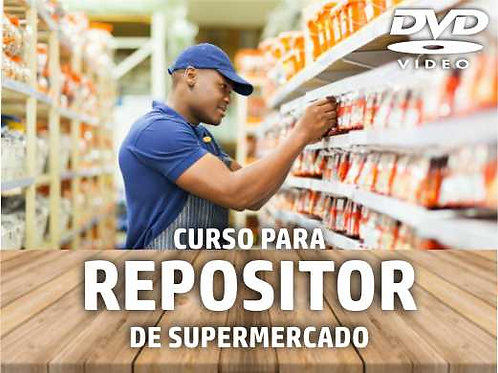 DVD - Curso de Treinamento: Repositor de Supermercado