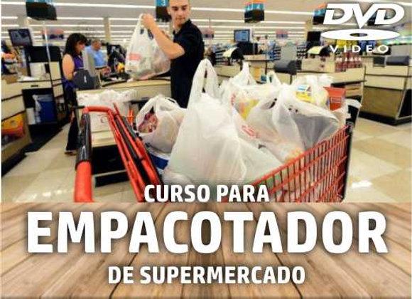 DVD - Curso de Treinamento: Empacotador no Supermercado