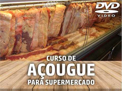 DVD - Curso de Treinamento: Açougue no Supermercado