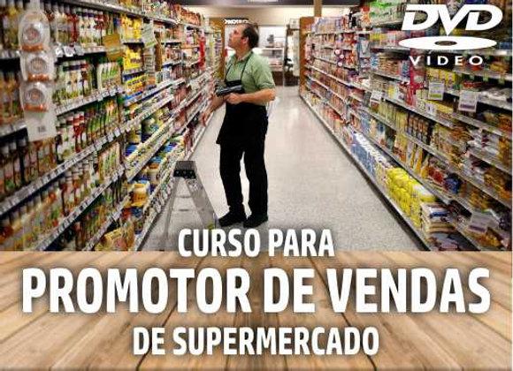 DVD - Curso de Treinamento: Promotor de Vendas em Supermercado