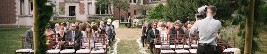 Founders lawn ceremony