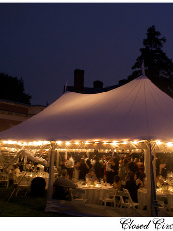 Founders Lawn Tented