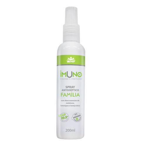 Imuno Spray Antisséptico Natural Família 200ml - WNF