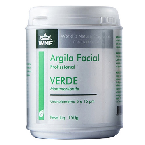 Argila Verde Natural 150g - WNF
