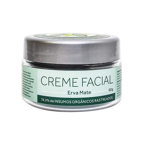 Creme Facial Erva Mate Orgânico Vegano 60g - Cativa