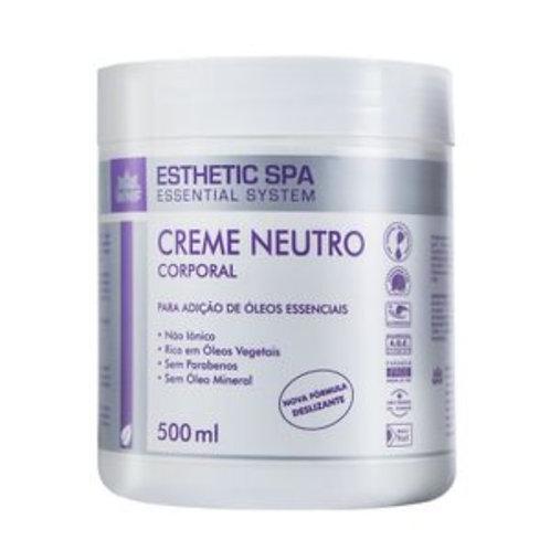 Creme Neutro Corporal Base para Massagem Esthetic Spa 500g - WNF
