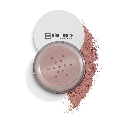 Blush Mineral Matte Vegano - Baby Pink (Rosa Claro) 3g -  Elemento Mineral