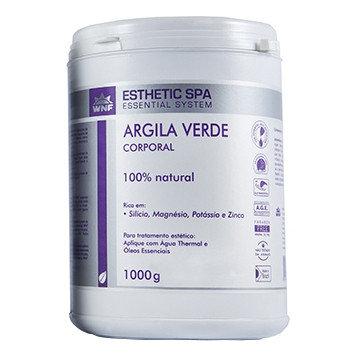 Argila Verde Corporal Esthetic Spa 1kg - WNF