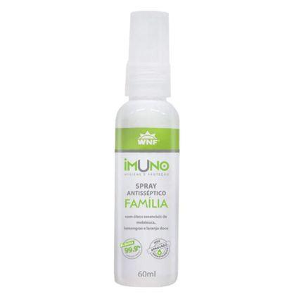 Imuno Spray Antisséptico Natural Família 60ml - WNF