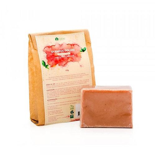 Shampoo Sólido Natural Vegano Pimenta Rosa 100g - Cativa Natureza