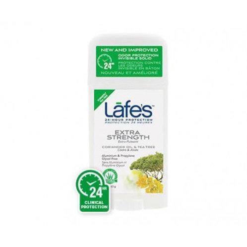 Desodorante Natural Twist-Stick Extra Strength 63g - Lafe's