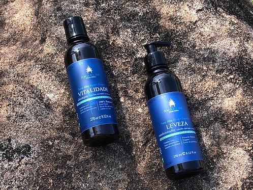 Kit Shampoo VITALIDADE e Condicionador LEVEZA - Ahoaloe