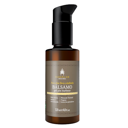 Gel Pós Barba Natural Vegano BÁLSAMO 120ml - AhoAloe