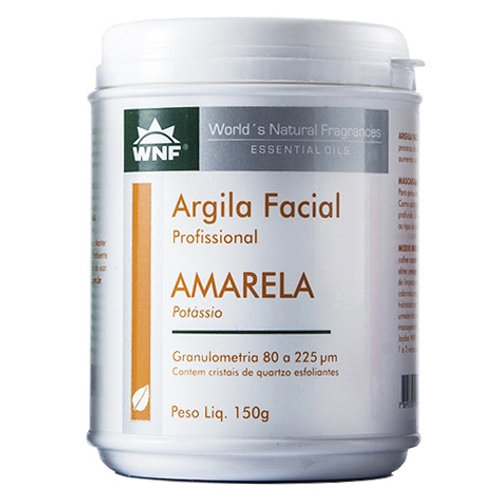 Argila Amarela Natural 150g - WNF
