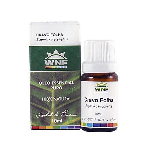 Óleo Essencial Cravo Folha - Eugenia Caryophyllus 10ml - WNF