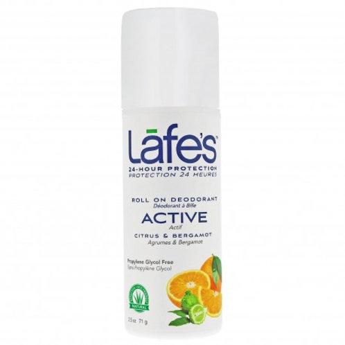 Desodorante Natural Roll-On Active 73ml - Lafe's