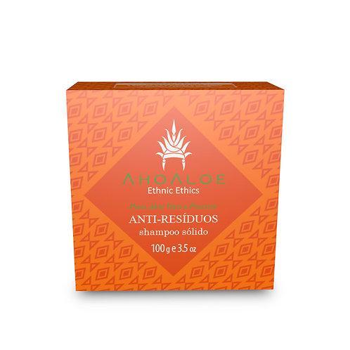 Shampoo Sólido Natural Vegano ANTI-RESIDUOS 100g - AhoAloe
