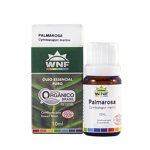Óleo Essencial Palmarosa - Cymbopogon Martini 10ml - WNF