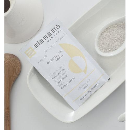 Bio Cristais De Quartzo Vegano Esfoliação Biodegradável 30g - Elemento Mineral