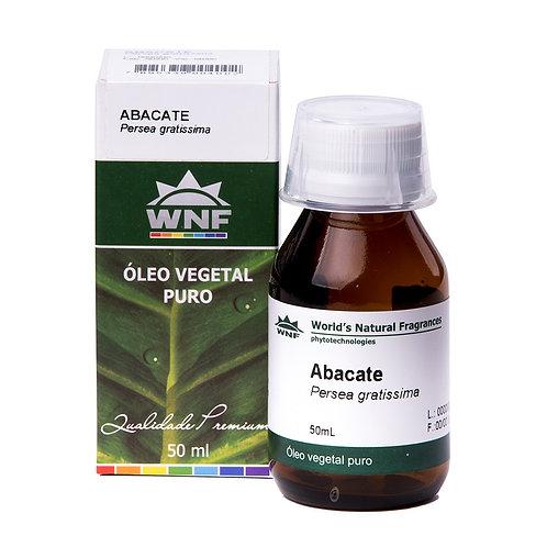 Óleo Vegetal Abacate - Persea Gratissima 50ml - WNF