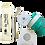Thumbnail: Kit Copo de Silicone Cor Kiwi + Kit Canudo Inox, Escova de limpeza e Bag
