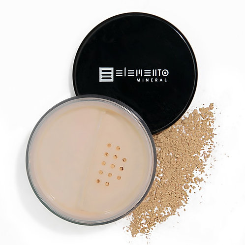 BB Powder Mineral Vegano FPS 15 - Pale Light (Bege Claro) 8g - Elemento Mineral