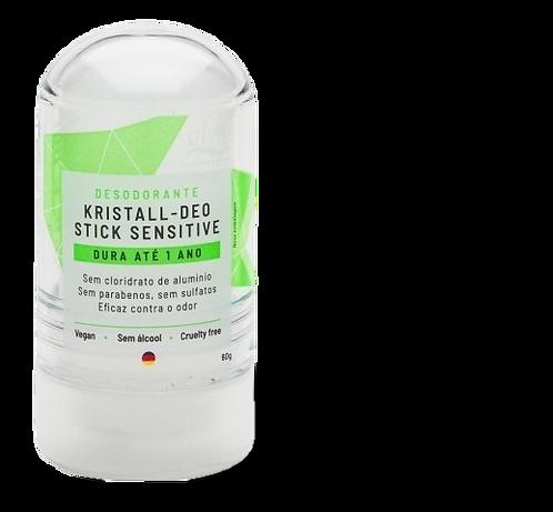 Desodorante Natural Stick Krystall Sensitive 60g - Alva
