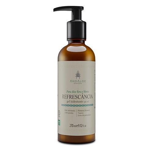 Gel Pós Sol Natural Vegano REFRESCÂNCIA para todos tipos de pele 270g - AhoAloe