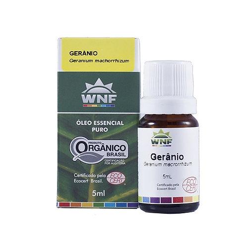 Óleo Essencial Gerânio - Pelargonium Graveolens 5ml - WNF