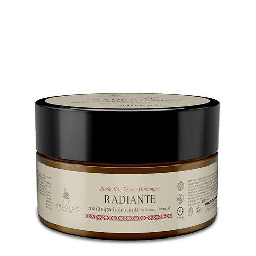 Manteiga Natural Vegano Hidratante RADIANTE 250g - AhoAloe