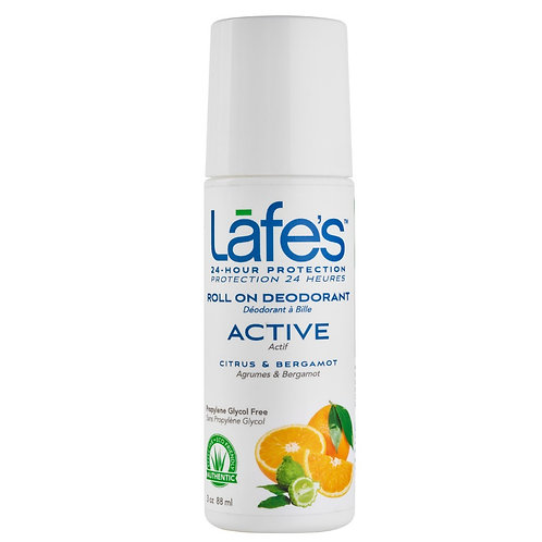 Desodorante Natural Roll-On Active 88ml - Lafe's