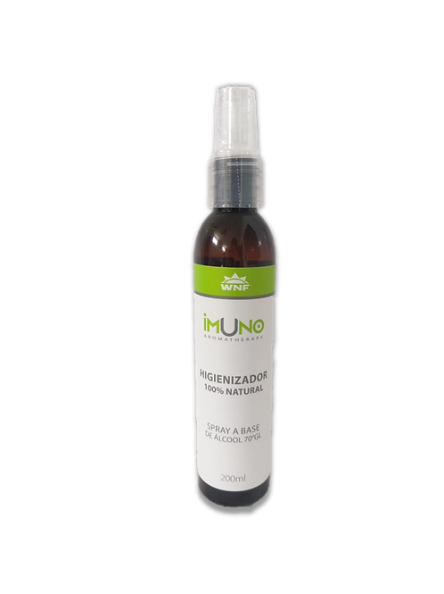 Imuno Aromatherapy Spray Higienizador Natural Álcool 70% 200ml - WNF