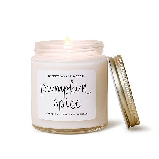 """Pumpkin Spice"" Candle"