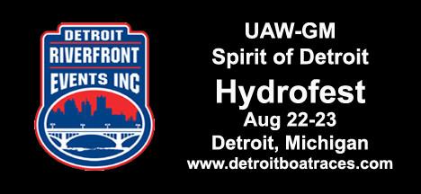 UAW-GM Spirit of Detroit Hydrofest