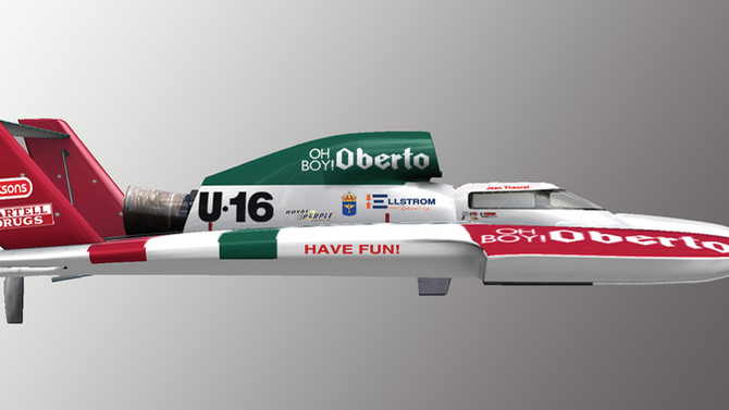 Oberto Brands On Board Ellstrom Racing
