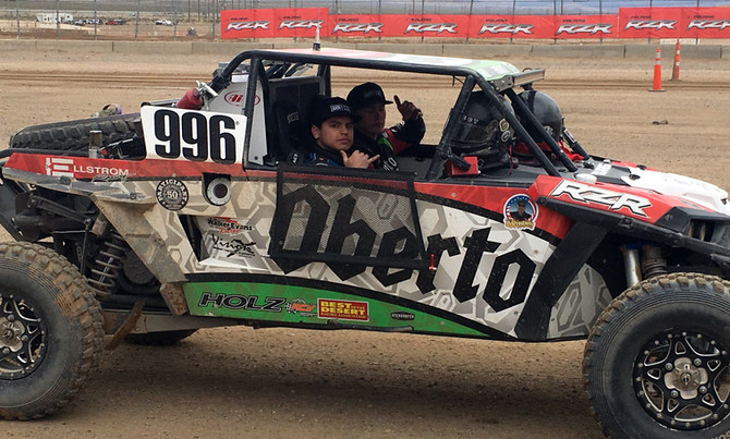 Ellstrom/Oberto Racing Scores Impressive Top 10 Finish at the Mint 400