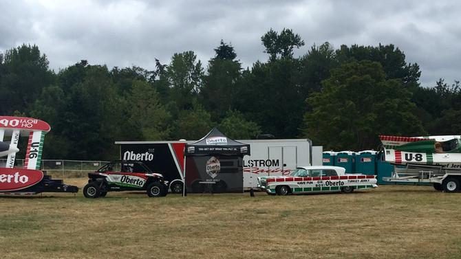 Ellstrom/Oberto Racing On Display