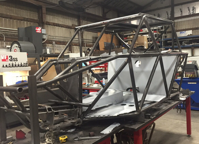 Construction Of 4th Off-Road Vehicle Underway